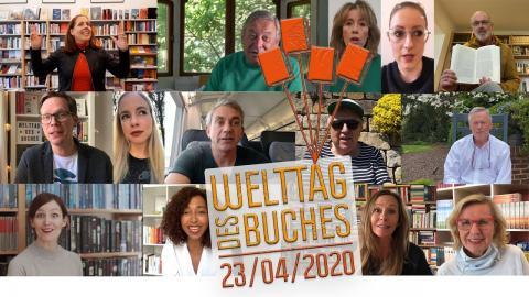 AutorInnen zum Welttag des Buches