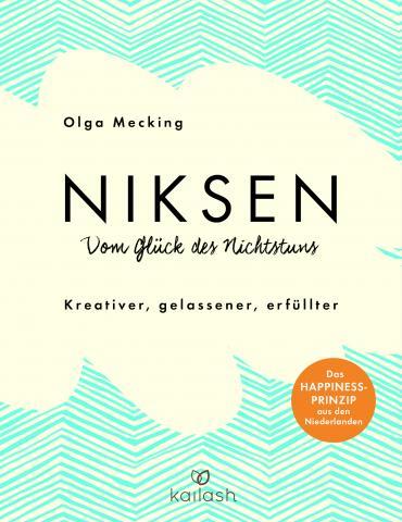 Olga Mecking, Niksen - Cover